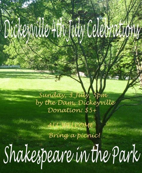 Shakespeare in the park promo small