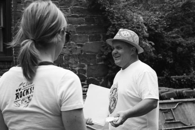 Mike Blair Rocks!_History Walk_July 2016- Carlye Brooks