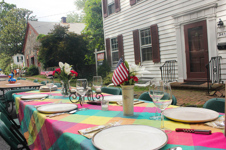 Street party Table decorations_July 2016_Carlye Brooks