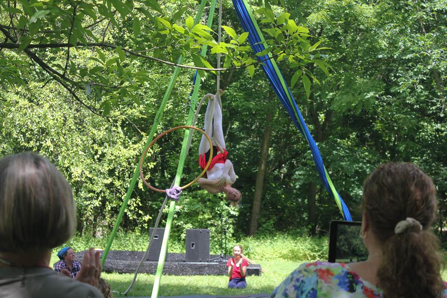 Tanya Turns our Worlds Upsidedown_Aerial Performance 2016- Carlye Brooks