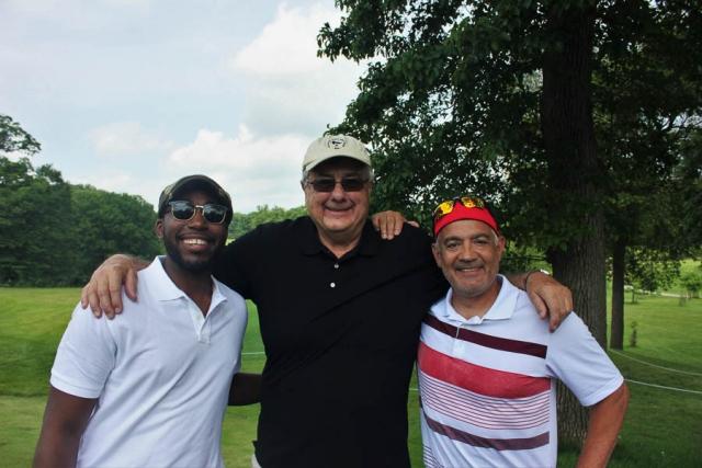 Triple Team_Chris Wharton_David Healy_Al Carvalho DV Golf Tournament 2016_Carlye Brooks